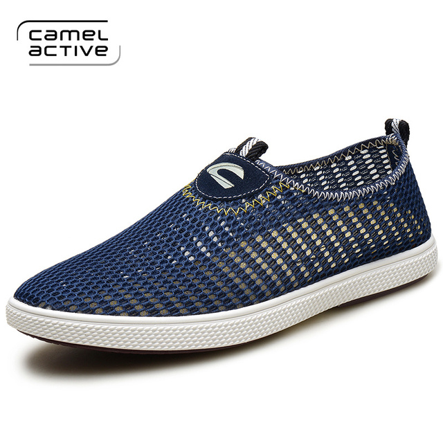 Camel Active men's shoes new mesh cloth shoes breathable mesh shoes fashion  man net surface casual