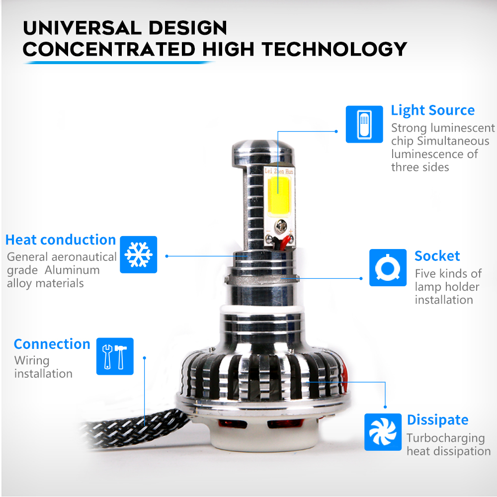 hight resolution of ray siul motorcycle headlight bulbs ba20d h4 45w led lamp scooter atv motorcycle accessories motor fog lights dc 12v on aliexpress com alibaba group