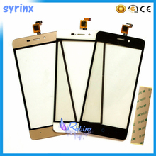 3 Color 5.0 inch Touch Screen Digitizer For ZTE Blade A452 X3 D2 Front Glass Panel Sensor Front Glass Lens Replacement Free Ship new touch screen for 7 supra m72kg prestigio multipad wize 3047 3037 3g 3038 touch panel digitizer glass sensor free ship
