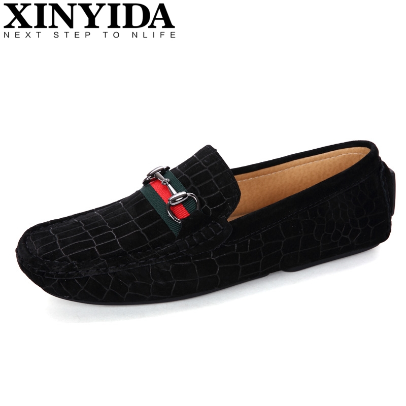 High Quality Genuine Leather Men Loafers Shoes Men's Slip On Breathable Comfy Boat Shoes Causal Moccasins Gommino Driving Shoes zenvbnv high quality summer cow genuine leather men shoes soft loafers fashion brand men moccasins flats comfy driving shoes