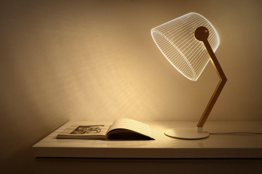 Creative Design 3D Led Night Light Novelty USB Switch Table Lamp Lanterna Luminaria Led Lamp lustre Light Home Decoration