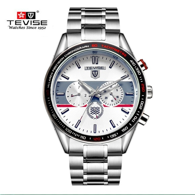 ФОТО Top Quanlity Automatic Self-Wind Brand Watches Steel Strap Original Life Waterproof Men's Business Watch Fashion Gift Watch A025