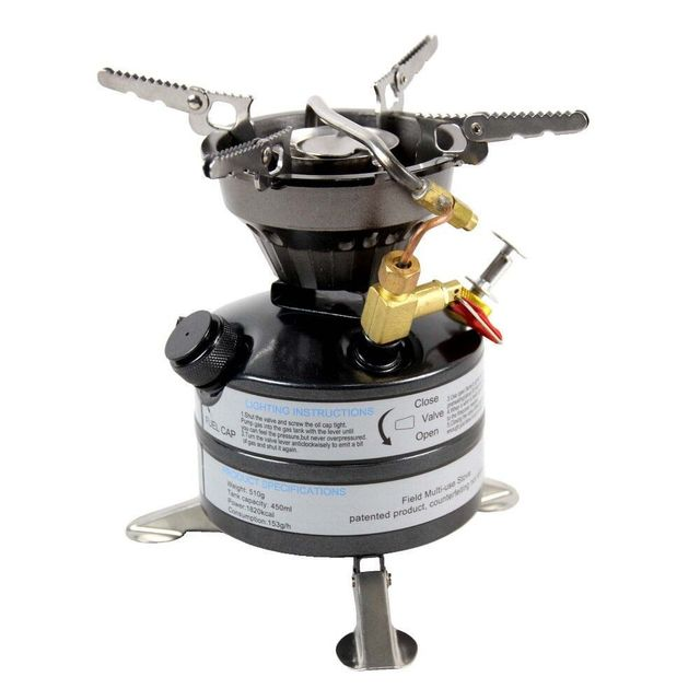 Free Shipping High Quality Field Gasoline Stove Camping Stove Burner