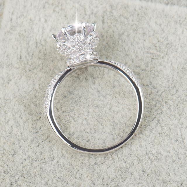 New Fashion Classic Soild engagement  Ring