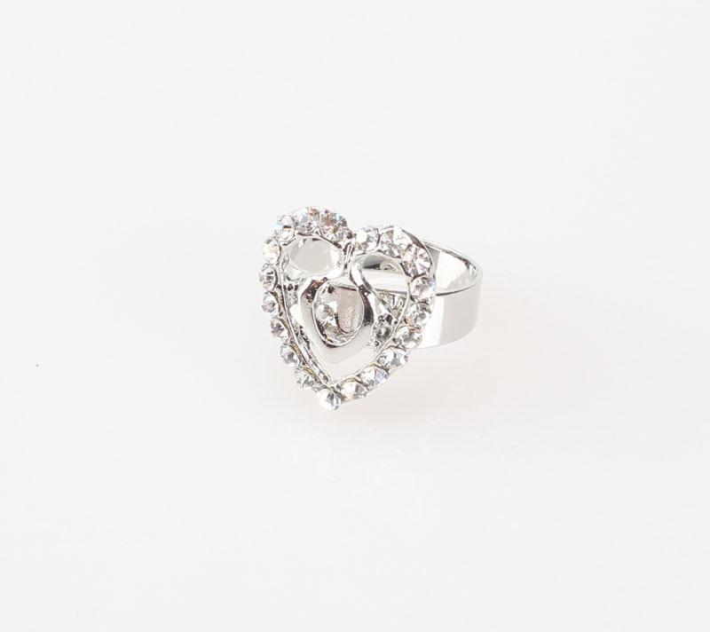 Free Shipping Dubai  Gold Color Heart Shape Necklace Set Fashion Crystal Wedding Bridal Costume Jewelry Ses 6