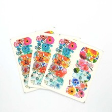 Water Nail Stickers Cartoon Design Decal Sliders Wraps Tool Manicure Art Decor Tips A14