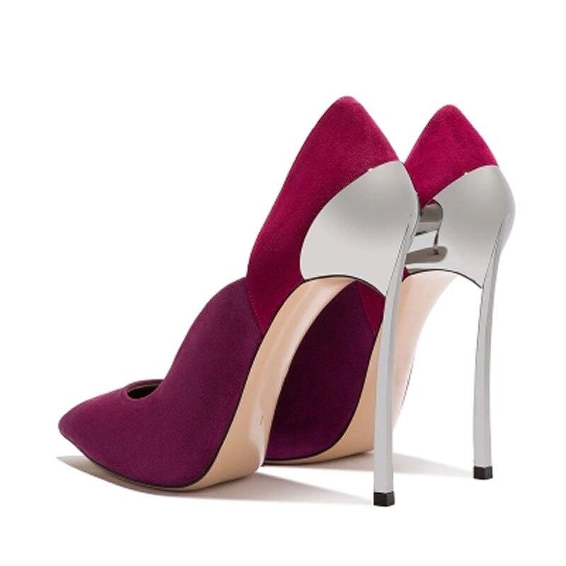 1 Pompes Color Dames Chaussures Unique 1 Suédé 12 2 12 Patché 10 10 Multicolore Femmes Bout Haute Sur Cuir 10 Métallique 5 12 Pointu 5 Sexy Glissent 10 12 4 2 Cm En Pompe Talons Forme Pétale 12 3 10 4 3 BgPwq8H