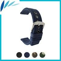 Nylon Nato Watch Band 18mm 20mm 22mm For Seiko Men Women Canvas Fabric Strap Wrist Loop