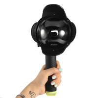 SHOOT 4 Inch 30M Dome Port Waterproof Lens Hood Cover With Floaty Grip For Xiaomi Yi