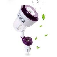 Mini Auto Air Humidificador Double USB Car Humidifier Essential Oil Diffuser Car Air Purifier Fresh Air