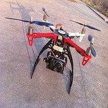 Радиоуправляемый Дрон Квадрокоптер огнеколесо комплект/4 оси FPV+ APM2.8/M8N gps+ мотор+ ESC+ передатчик Flysky I6+ шасси F450 Мультикоптер Дрон