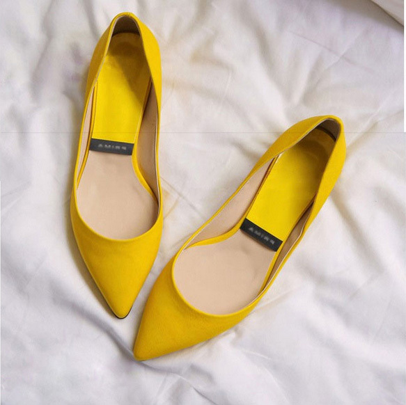 df0e44e4be New 2015 Jelly Ballerina Flats women Candy Color Women Shoes Pointed Toe  Navy Red Flats Pink Yellow Green Red Cute Girls Flats
