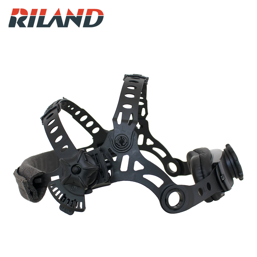 Купить с кэшбэком RILAND X9000  Adjustable Welding Welder Mask Headband Auto-Darkening Welding Helmet  Headband Replacement Welder Tool