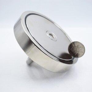 Image 5 - Aimant en néodyme, crochet magnétique super puissant de 550kg, porte NdfeB permanent de pêche de sauvetage