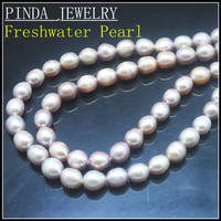 Cultured Freshwater Pearl Beads Accessories DIY Beads Rice Shape 9 10mm 14 5 Length Hole 0