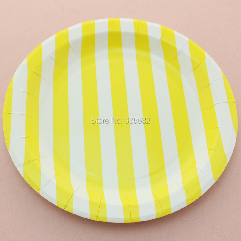 Free Shipping 108pcs Birthday Theme Party Tableware 9  Blue Striped Eco Friendly Round Paper Plates-in Flatware Sets from Home u0026 Garden on Aliexpress.com ...  sc 1 st  AliExpress.com & Free Shipping 108pcs Birthday Theme Party Tableware 9