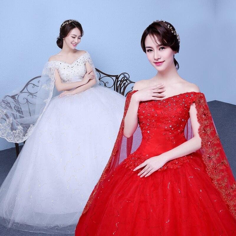 Vintage Wedding Dresses Red: Red Watteau Wedding Dress 2019 Vestidos De Noiva Vintage