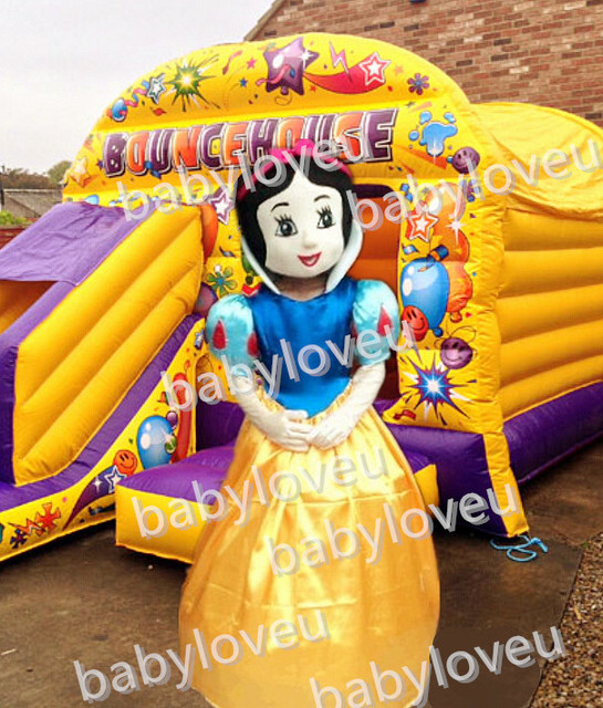 2017 Hot Sale ! High Quality Snow White mascot costume Adult Snow White Carnival Costume Character Cartoon Mascot Free Shipping