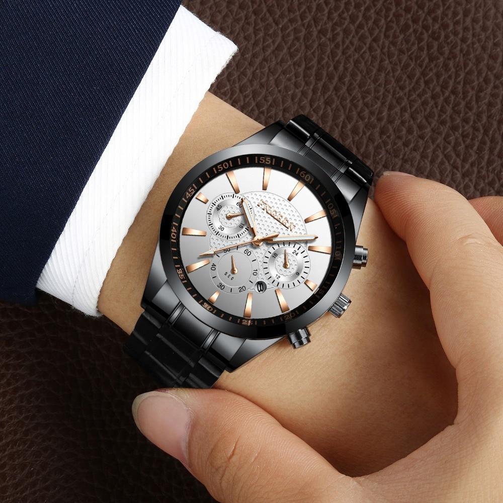 купить Top Brand Luxury Men's Watch FNGEEN Waterproof Sport Watches Men Auto Date Luminous Watch Clock reloj hombre erkek kol saati по цене 734.99 рублей