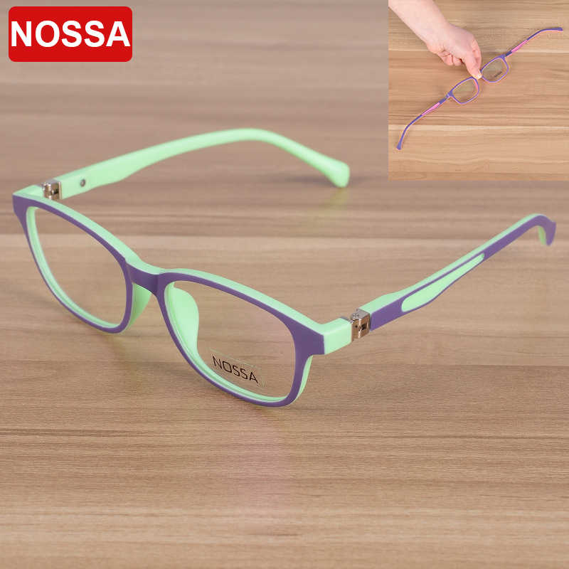 1d129254ac NOSSA 2017 Elegant Fashion Children Optical Glasses Frame Kids Eyewear  Eyeglasses Boys Girls Myopia Spectacle Frames