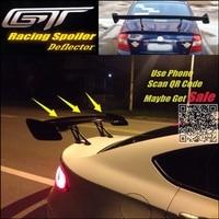 Car Big GT Rear Spoiler Wing Tail Deflector / Trunk Blades Drift For Subaru Impreza WRX STi XV Sedan Tuning View High Toughness