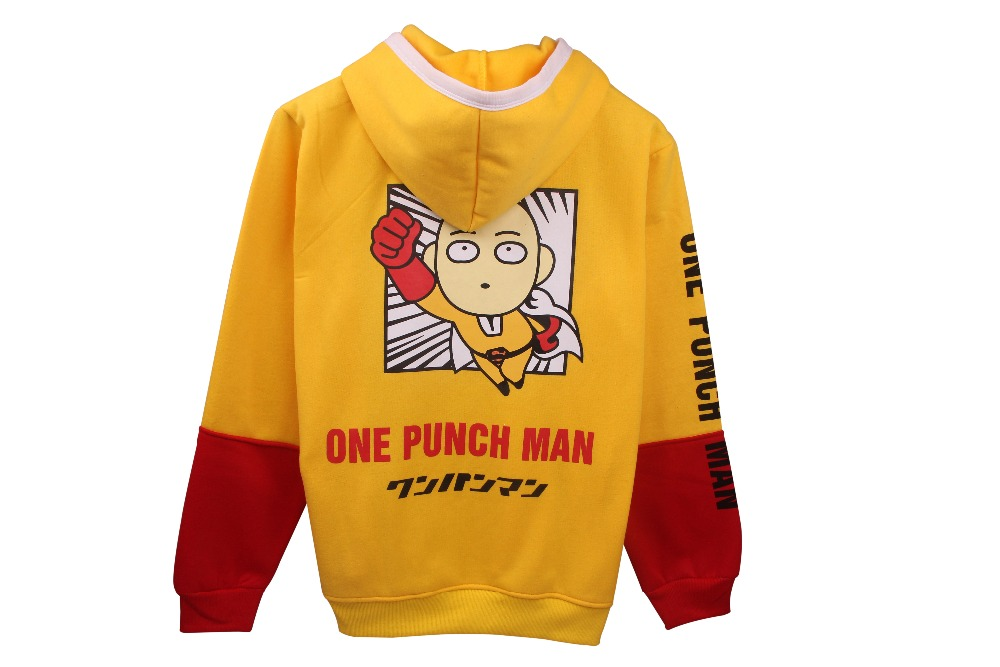 Men Women Winter Fashion Fresh Yellow Superman Punch Stitching Have Hat Thick Jackets Sweatshirts ZXS-xhSweatshirt 07
