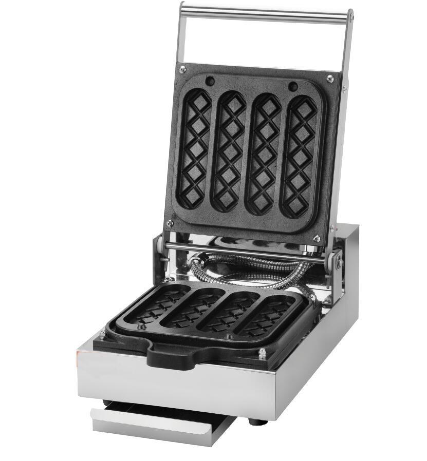 Free Shipping Commercial Use Nonstick 220v Electric Hot Dog Lolly Waffle Stick Baker Maker Machine commercial smooth milk hot dog stick waffle baker maker machine for hot dog