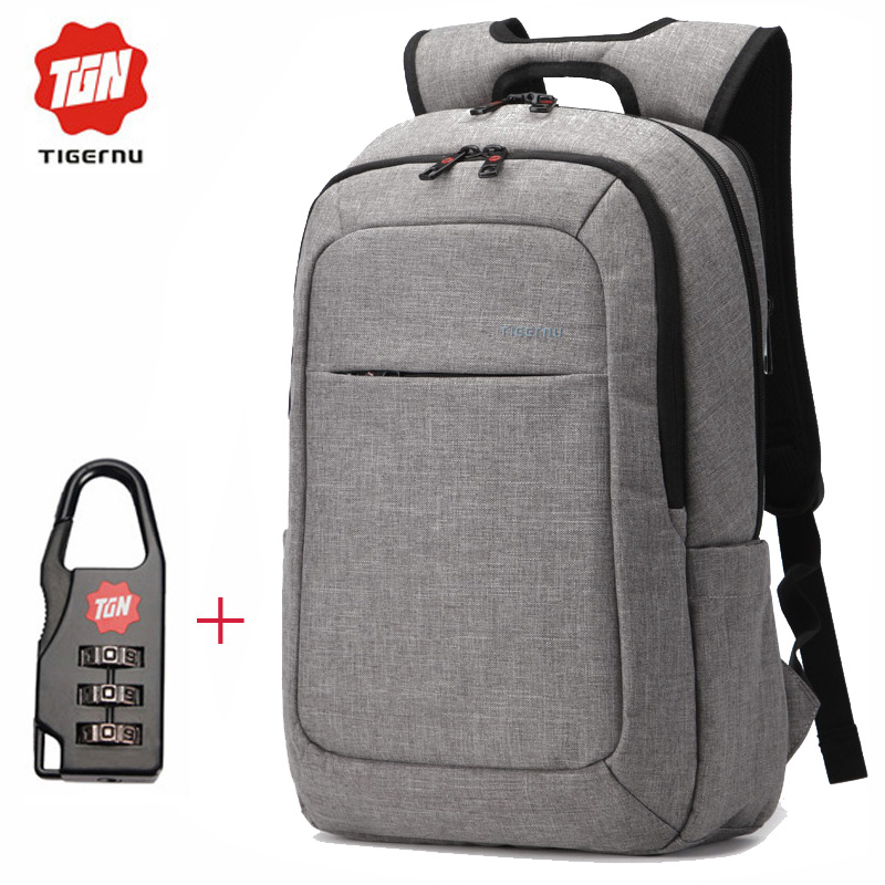 ФОТО  2017 Tigernu classic style  Backpack for School Student Mochila Men's Daypack Bag Pack 15.6 Laptop Backpack for women
