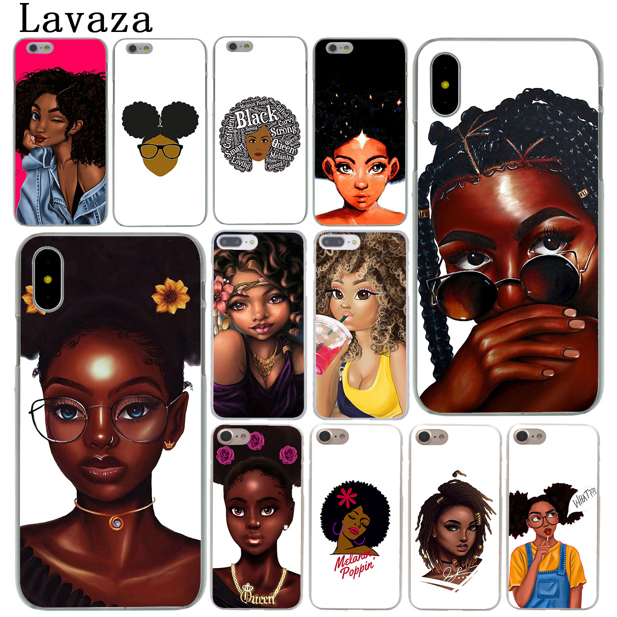 Afro Phone Case 72d407