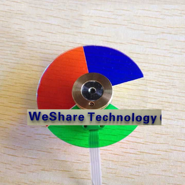 ФОТО New Projector Color Wheel Model For 5100MP Replacement Color Wheel Colour