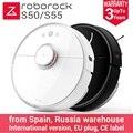 2019 Hot Roborock S50 S55 2 Casa Robô Aspirador de pó Automático Varrer Esterilizar Poeira Inteligente Planejado de Lavar Esfregar Espanhol