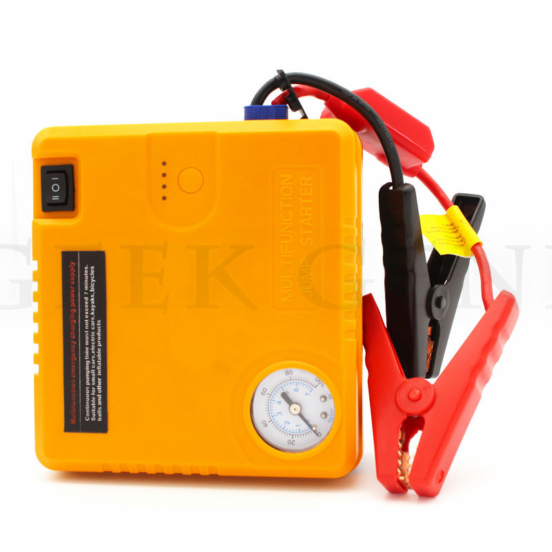 2018 Car Jump Starter Emergency 16800mAh Petrol Diesel Starting Device Charger For Car Battery Booster Buster Auto Air pump high capacity car jump starter mini portable emergency battery charger for petrol