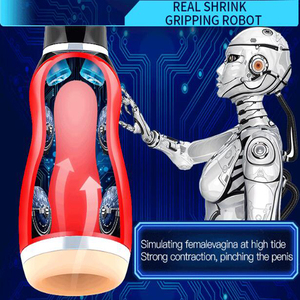 Image 3 - LUOGE Oral Sex mouth Suction Vibrating Blowjob Male Masturbator for man Pocket vagina real pussy Moan Vibrator sex toys for men
