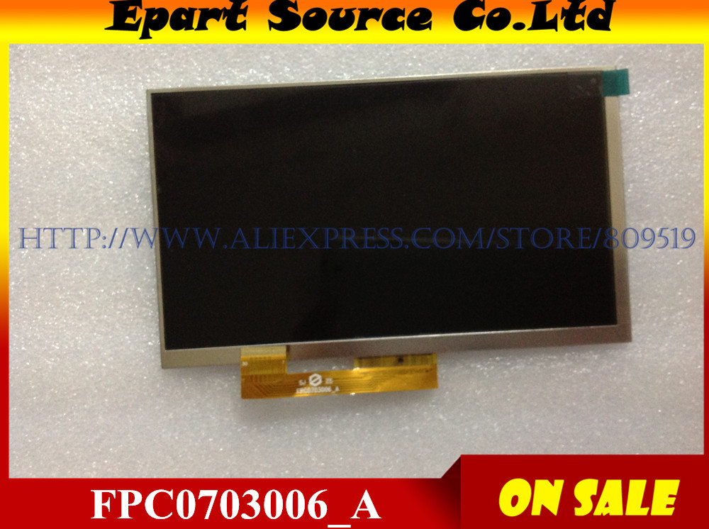 A+ 7inch LCD screen (163*97mm), display Matrix (30PIN) for Tablet PC(1024*600) FPC0703006_A FPC0703006