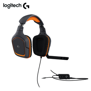 Image 5 - Logitech Originais G231 PRODÍGIO Estéreo Fones de ouvido de Jogos Cancelamento de Ruído de MICROFONE On Cabo 3.5 milímetros Fone De Ouvido Compatível com Xbox um PS4