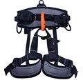 Outdoor climbing safety belts safety equipment harness climbing belt waist safety Aluminum solid belt 800KG Available  GM1414