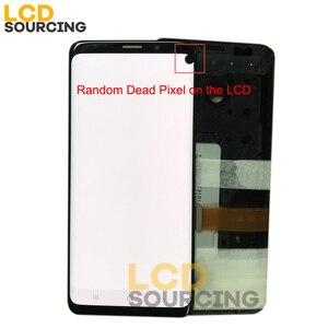 Image 2 - Zufällig Dead Piexl AMOLED LCD Display Für SAMSUNG Galaxy S9 / S9 + Plus G960 G965 mit Rahmen Touchscreen digitizer Ersatz