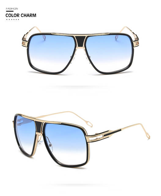 d77f3c4d3dc98 Online Shop 2019 Mens Square Gold Frame Sunglasses Men Driving Retro Sun  Glasses for Women Vintage Glasses or Lunettes De Soleil Gafas D