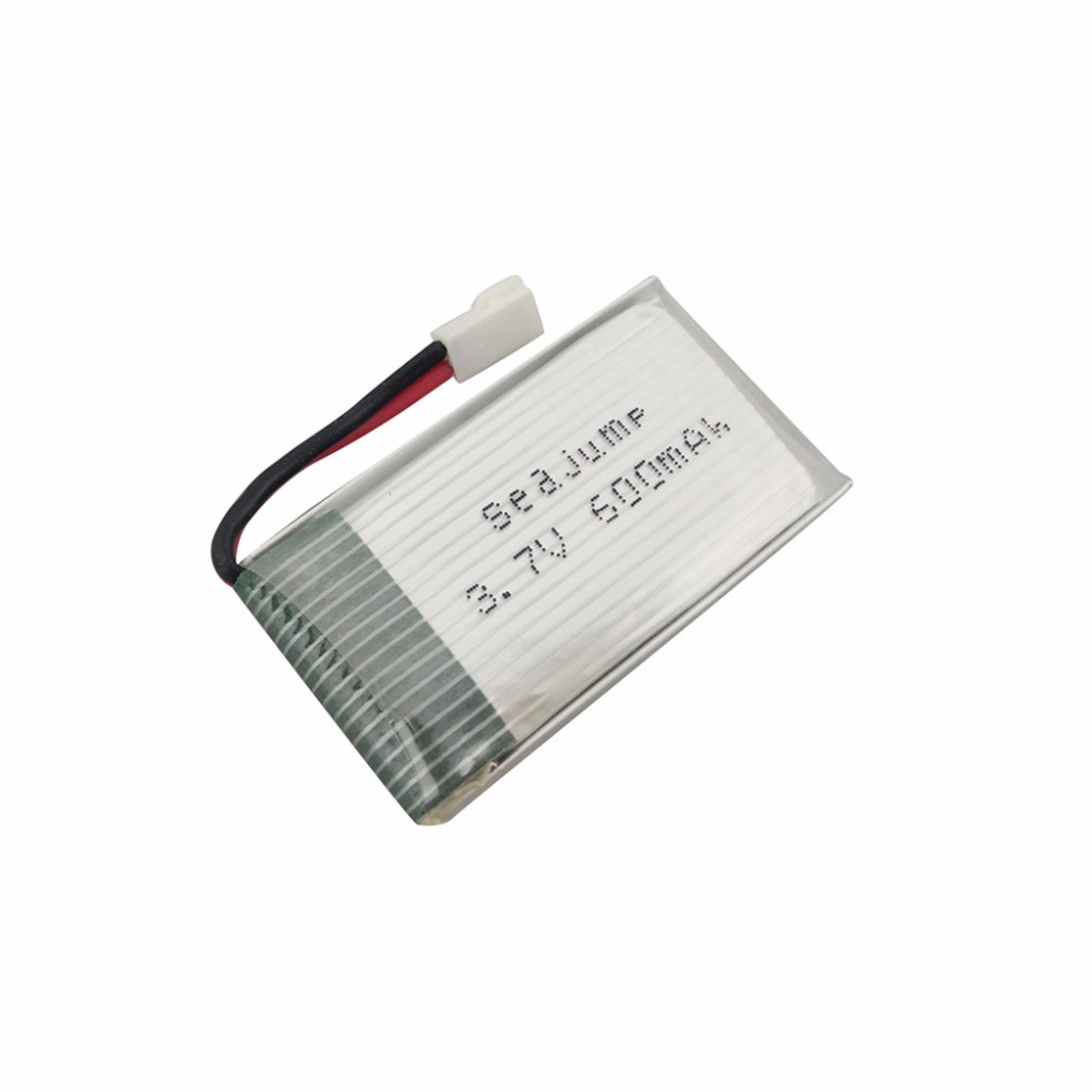 3.7V 600mah Quadcopter Lithium Battery for MJX X708 X708W RC Helicopters Spare Parts квадрокоптер радиоуправляемый mjx bugs 3