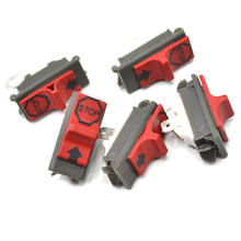5PCS Chainsaw Switch On Off Kit For Husqvarna 50 51 55 61 142 137 254 257