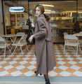 New Woman's Trenches Coat Autumn 2016 Fashion Female Overcoat With Belt Long Design With Belt