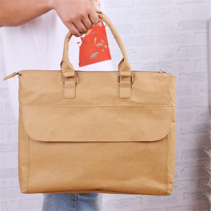 Waterproof Laptop Handbag Notebook Kraft Paper Sleeve Bag Case For Macbook Air P