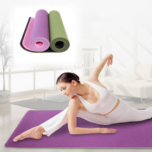 183*61cm*6mm TPE Yoga Mats for women fitness and body building
