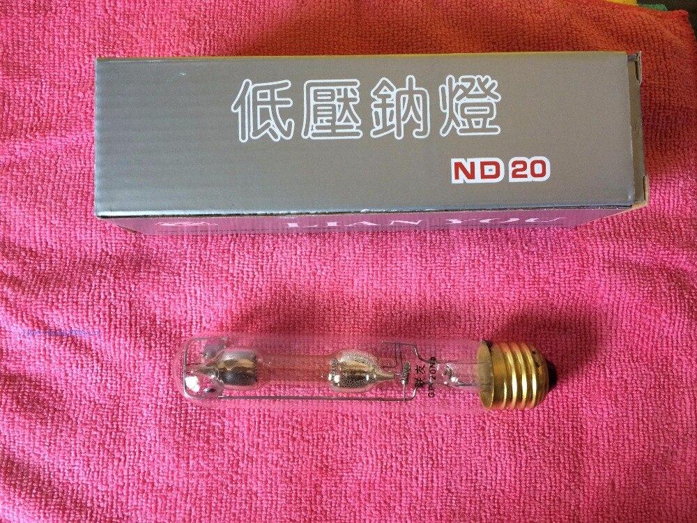 Hochdruck-natriumdampflampen Effizient Niederdruck Natrium Lampe Nd20 15 V 20 W E27 Schraube Basis Und Pins Basis Licht & Beleuchtung