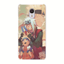 MEIZU MX4 MX5 MX6 U10 U20 M2 M3S M3 M5S M5 Note Pro 5 6 Transparent case Naruto anime pattern phone cover shell