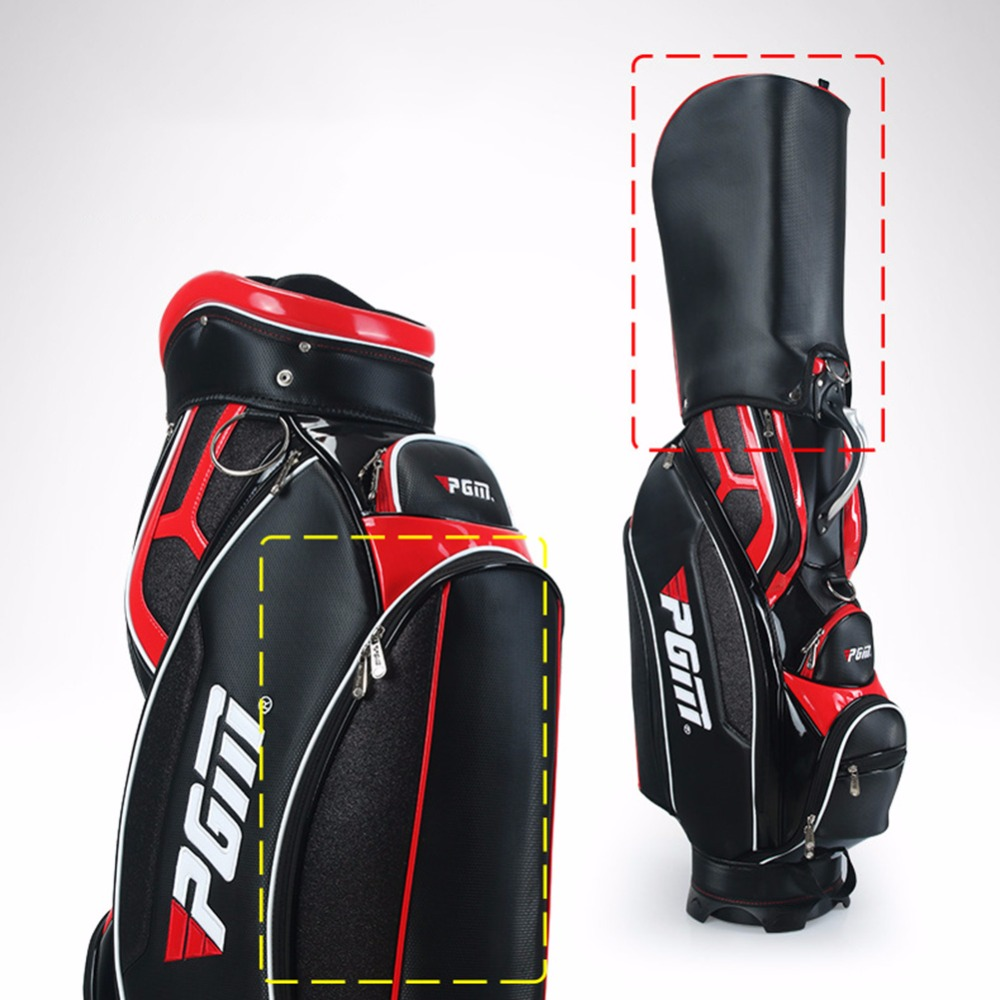 Crestgolf Golf Standard Bag High Quality Pu Waterproof Bags Large Capacity Equipments In From Sports Entertainment On