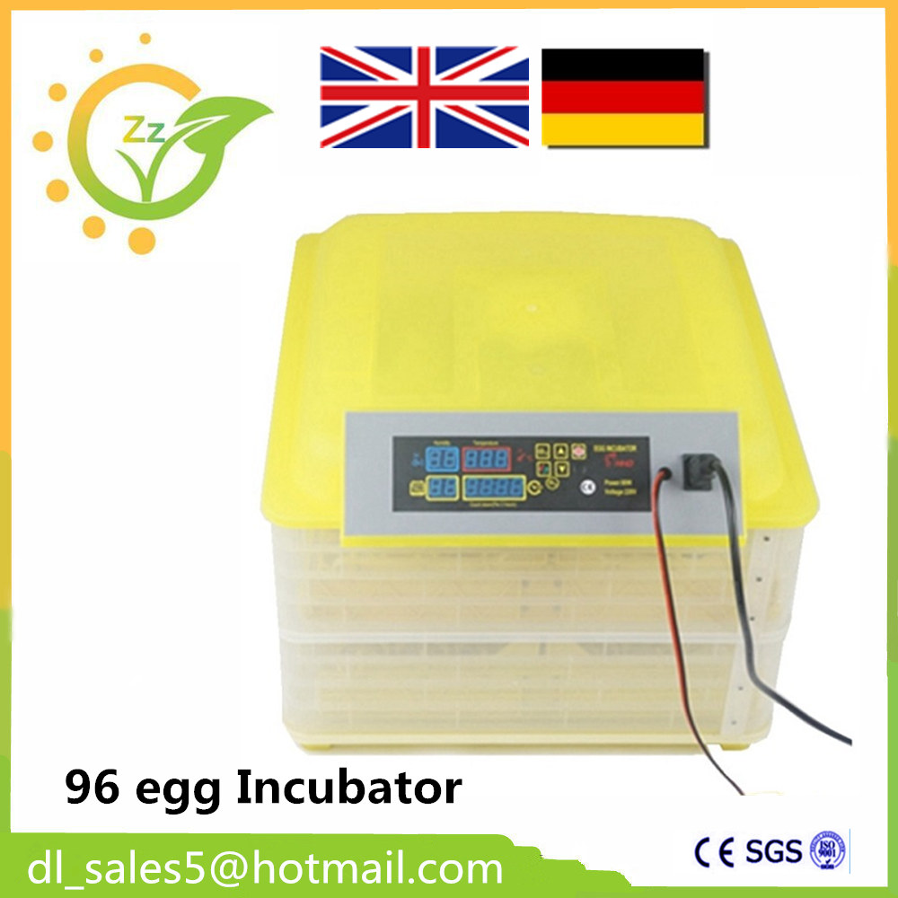 Cheap CE Mini Capacity 96 Auto Turner Full Automatic Egg Incubator for Chicken with Digital Commercial Thermostat Control  цены