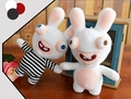 Crazy rabbit doll plush toy doll girl whimsy graduation gift
