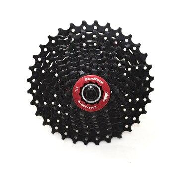 10-speed cycling bike Cassette freewheel 11-32T 11-34T Black bicycle flywheel Sunrace CSRX0 road bike bicycle freewheel