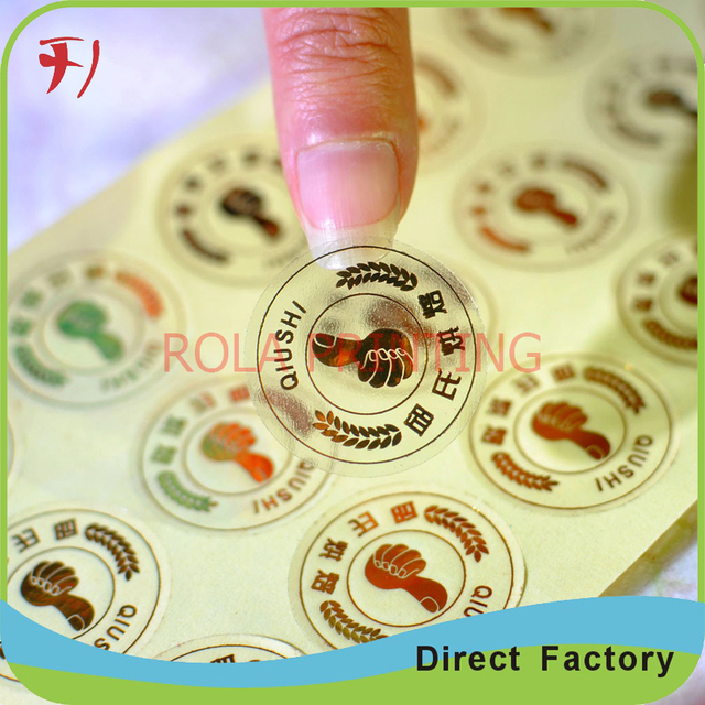 Custom printed stickersprint vinyl stickefrozen product labels printing
